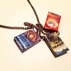 Divergent trilogy book charm necklace by NovelReveries on Etsy, $10.00