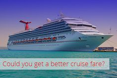 Are You Missing Out on Cruise Fare Price Reductions? - The Krazy Coupon Lady