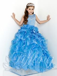 Tiffany Princess Little Girls Dress 13423 - Everything4pageants.com
