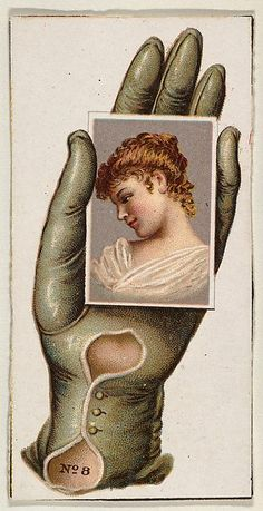 Card Number cut-out from banner advertising the Opera Gloves series for Allen & Ginter Cigarettes Vintage Photos Women, Vintage Pictures, Vintage Flash, Vintage Art, Vintage Drawing, Retro Illustration, Illustrations, Retro Tattoos, Vintage Ephemera