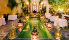 Marrakech Travel Guide - this restaurant looks incredible!