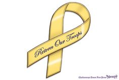The Yellow Ribbon... Only a few more days and I will be sporting mine for the next 9 months