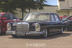 Mercedes W108 on airbags Players Classic 2014   Slam Sanctuary