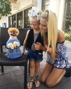 """Got to spend a little time with the worlds cutest dog EVER @jiffpom <span class=""""emoji emoji1f43b""""></span> and Ev and I are beyond obsessed. ..."""
