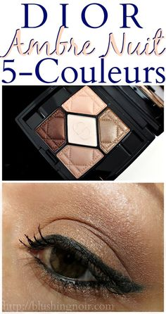 Dior Ambre Nuit 5-Couleurs for Summer 2015 // Get the look!