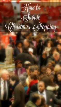 Christmas shopping doesn't have to be stressful. Here's some tips on how to survive Christmas shopping #avionvip