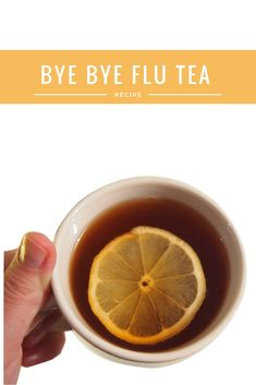 Have you tried this tasty version of ginger lemon tea? Here's a great way to cure your cold and flu fast with some bonus tips for extra help with natural home remedies. Enjoy and be well! Healthy Juice Drinks, Healthy Juices, Get Healthy, Healthy Life, Ginger Lemon Honey Tea, Ginger Root Tea, Tea For Flu, Tea For Colds, Cinnamon Recipes