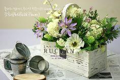 조화장식(Artificial Flower)_[플라워스쿨,루시안(RUCYAN)]전문가반 플라워레슨 :: 네이버 블로그