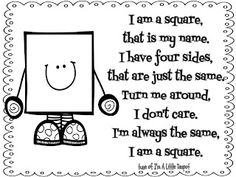 Shape Song Printables