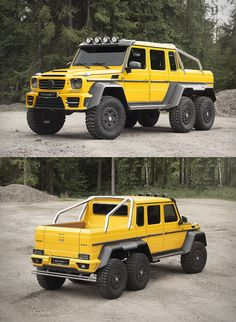 Mercedes-Benz G63 AMG 6×6 | by Mansory
