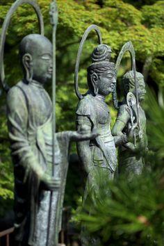 Photograph Buddha statue three-body by kmr tzu on 500px