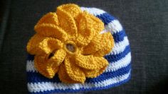 babygirl crochet hat