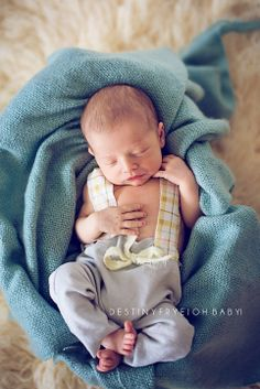 Newborn boy photography suspenders © Destiny Frye Photography www.destinyfryephotography.com