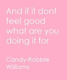 Robbie Williams- Candy
