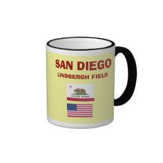 San Deigo SAN Airport Mug; www.zazzle.com/airports*