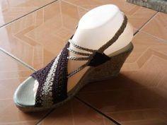 Como No Tempo da Vovó: Crochê também nos pés