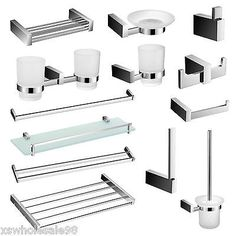71b6102686 Bathroom Accessories - Bold Design - Wall Mounted - Chrome