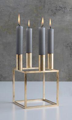 BY LASSEN »Kubus 4« candlestick