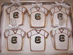 South Carolina Gamecocks Cookies