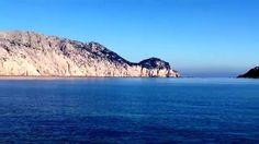 Orizzonte Casa Sardegna Tavolara da Cala Ginepro una mattina d'inverno