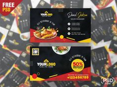 Check out our newest Free Restaurant Food Business Card PSD. This Restaurant Food Business Card PSD is perfect for any kind of food industry like a restaurant, bar, hotel, cafe shop etc. Restaurant Recipes, Restaurant Bar, Cafe Shop, Free Business Cards, Food Industry, Social Media, Check, Coffee Shop Business, Social Networks