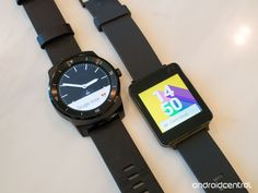 LG G Watch R and LG G Watch