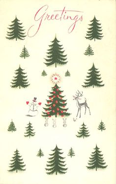 All sizes | Vintage Christmas Card, 1959 | Flickr - Photo Sharing!