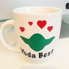 Yoda Valentines Cappuccino Mug