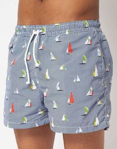 Vilebrequin Moorea Happy Penguins Swim Trunks B O X I N