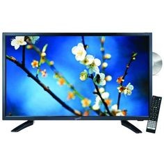 """Exclusive Supersonic SC-2212 22"""" Widescreen LED HDTV with Built-in DVD Player By Supersonic (New)"""