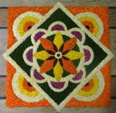 Dear friends...Happy Onam to you all. This is our usual common flower design done by me and my neighbours. Hope you all had a very good Ona sadhya.