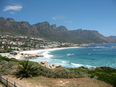 View of Camp's Bay, Cape Town, South Africa