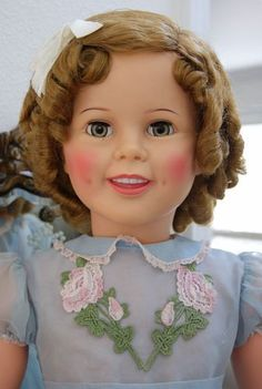 """Vintage Ideal 35"""" Shirley Temple Playpal Doll, 1959. Beautiful!"""
