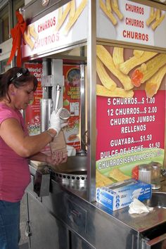 Churros with sugar in Little Havana without the dulce de leche (but with extra attitude) why?
