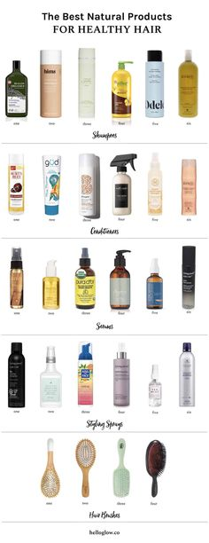 Our Guide to the Best Natural Products for Healthy Hair