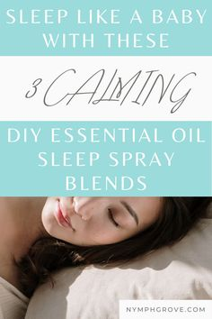 Sleep is super important for our health, wellness & beauty. But given our fast paced, anxiety inducing lives, sometimes it can be so elusive, right? But not to worry, for nature's got our back. Here I'm sharing my DIY essential oil sleep spray recipe & 3 unique essential oil sleep spray blends that help me every time I'm feeling too anxious or restless & can't sleep. Read on to get the step by step oil sleep spray recipe & the blends, & make your own sleep spray for times sleep proves… Essential Oils For Sleep, Cedarwood Essential Oil, Bergamot Essential Oil, Essential Oil Blends, Treating Insomnia, Insomnia Cures, Natural Remedies For Allergies, Natural Sleep Remedies, Get Rid Of Sunburn