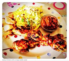Jo's Blue AGA: Satay Chicken (quicker than a takeout)