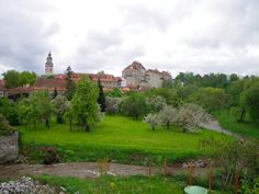Castle in Cesky Krumlov, Czech Republic  http://georgeandheidi.net/world-travels/cesky-krumlov-czech-republic/