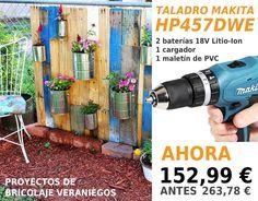 Proyectos veraniegos!! #proyectosveraniegos #taladroMakita #Makitaherramientas #Makita #tools4pro #oferta #verano
