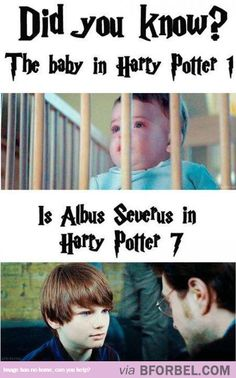 He Was Baby Harry Potter, Then He Was Harry Potter's Baby…