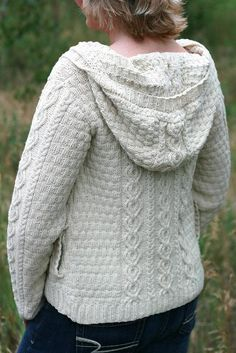 Trail Hoodie by Marly Bird   Knitting Pattern - $6.99 on Craftsy