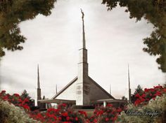 Dallas Temple by Brent Borup