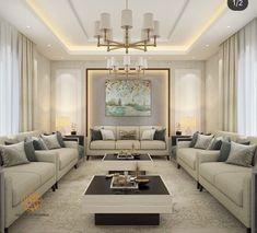 Home Decor – Decor Ideas – decor Table Decor Living Room, Interior Design Living Room, Living Room Designs, Luxury Sofa, Luxury Living, Sofa Design, Living Room 3ds Max, Home Room Design, Formal Living Rooms