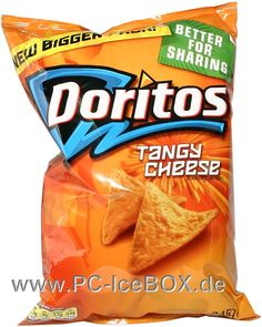 Doritos - are the chip of choice and choose a hot and spicy one.