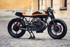 8negro: MOTO GUZZI V65:: VENTUS GARAGE. Moto Guzzi Motorcycles, Cool Motorcycles, Vintage Motorcycles, Scrambler, Cafe Racer Bikes, Cafe Racer Motorcycle, Cafe Racers, Motorcycle Types, Cafe Bike