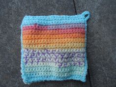 My first pot holder :)