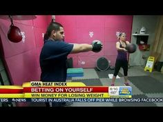 Everybody Loves HealthyWage Good Morning America host Abbie Boudreau explains how HealthyWage works and interviews HealthyWage's co-founder Jimmy Fleming on the effectiveness Weight Loss Challenge, Weight Loss Goals, Diet Challenge, Hobbies That Make Money, How To Make Money, 5 Minutes Workout, Good Morning America Hosts, Losing Weight Tips, Lose Weight