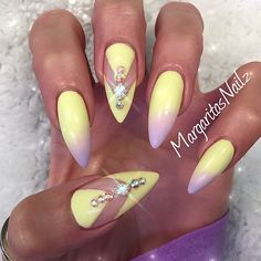 """I fall in love with this combination  follow her @margaritasnailz @margaritasnailz…"""