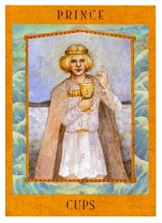 The Goddess Tarot Deck: Knight of Cups