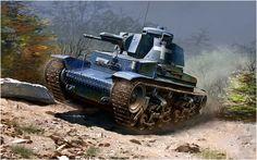 Panzer 35(t) de la 1ª Divisiione Leggera, Polonia, set. 1939. La divisione si riorganizzò il 18 ottobre 1939 come 6ª Panzerdivision. Vincenzo Auletta